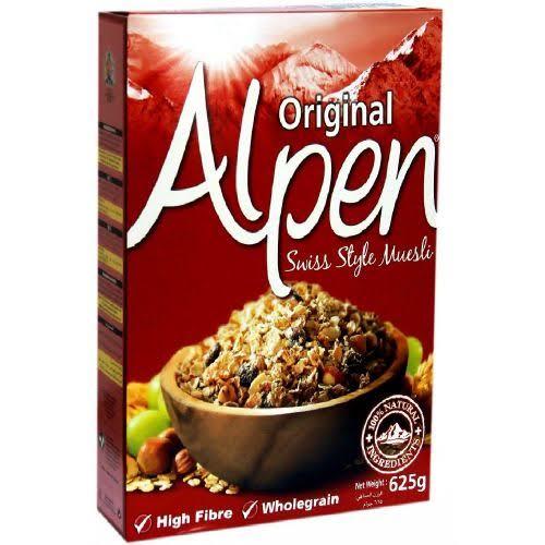 alpen muesli original 625GM