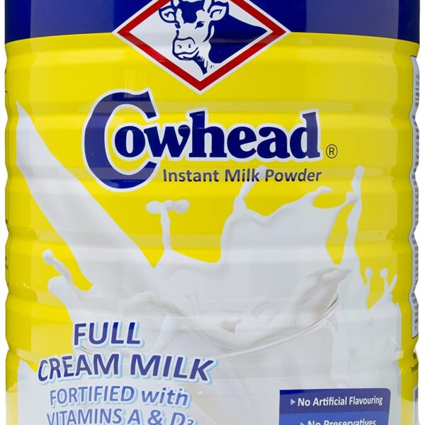 Cowhead Full Cream Inst Milk Powder 2.5kg