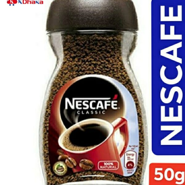 Nescafe Classic jar Instant Coffee 50g jar