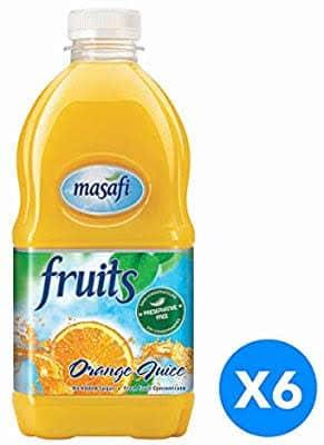 Masafi orange juice 1Ltr