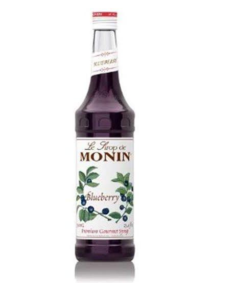 Monin Syrup Blueberry