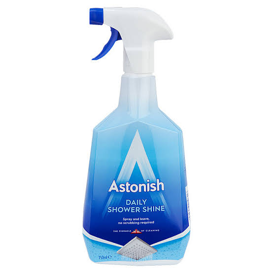 astonish household daily shower shine