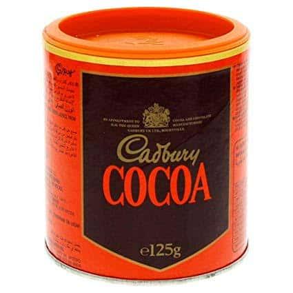 cadbury cocoa powder 125gm