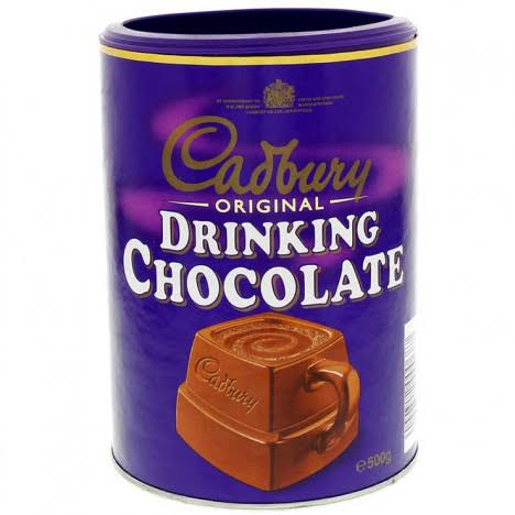 cadbury drinking chocolate powder