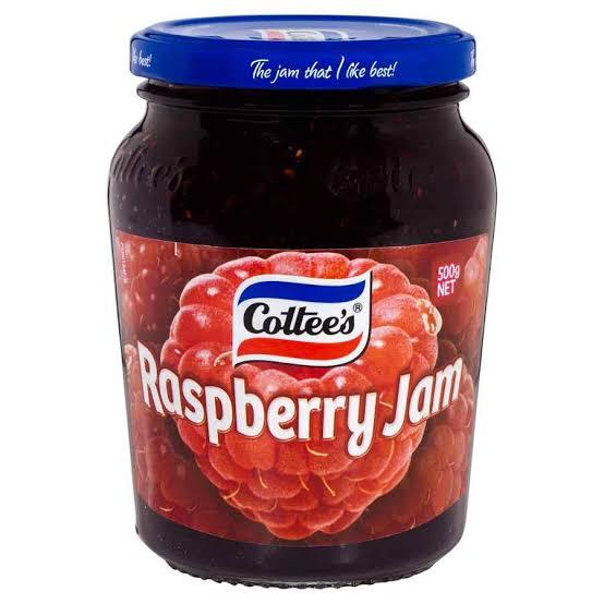 cottees raspberry jam