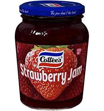 cottees strawberry jam