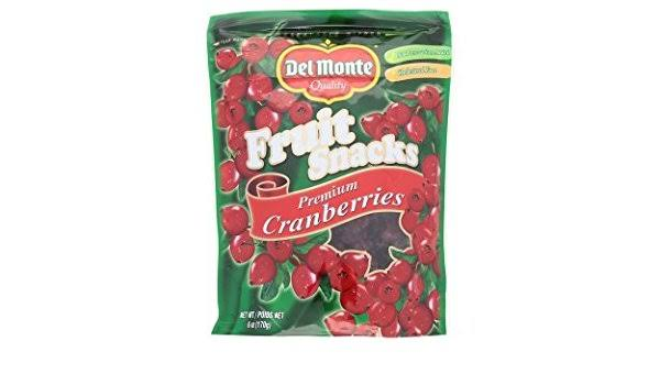 delmonte cranberries