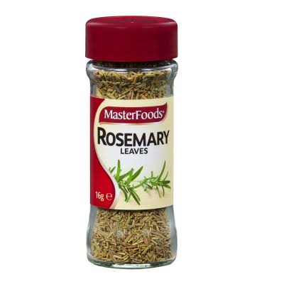 master food spice rosemary leaves