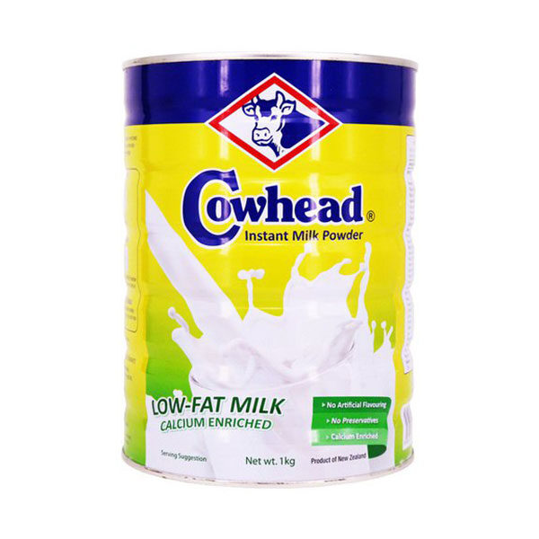 Cowhead Low Fat Inst Milk Powder 1kg