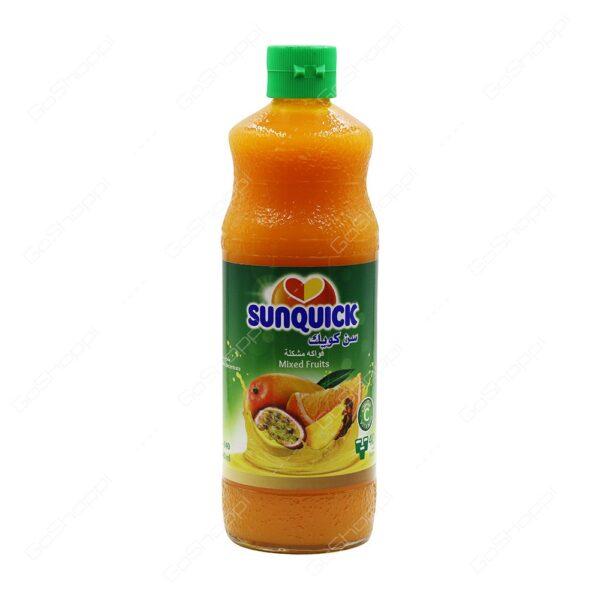 sun quick juice mixed tropical