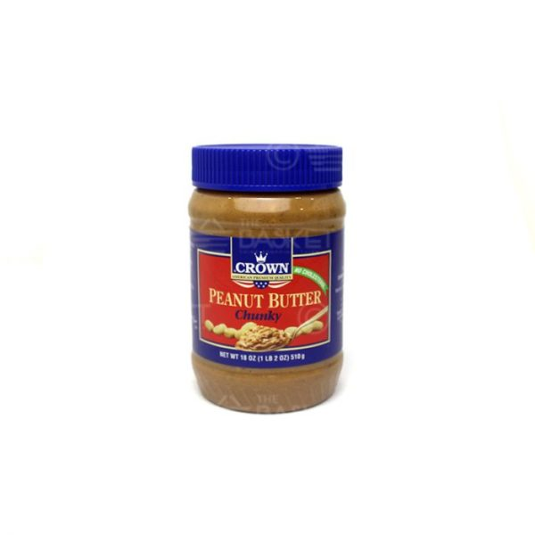 Crown Peanut Butter Chunky 510gm