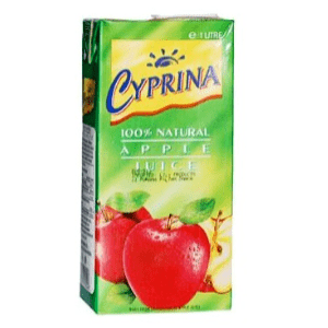 Cyprina Apple juice 1Lit