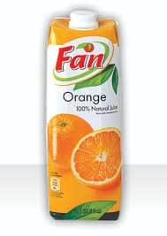 Fan Orange juice 1Lt