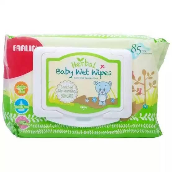 Farlin Herbal Baby Wet Wipes