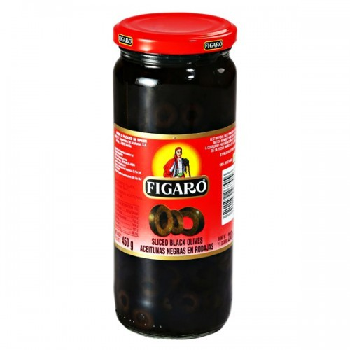 Figaro Pitted Black Olives