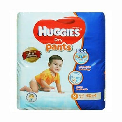 Huggies Baby Diaper Pants 60pcs