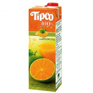 Tipco Tangerine Juice 1Lit