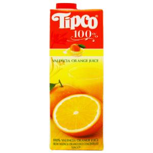 Tipco Valencia Orange juice 1L Thailand