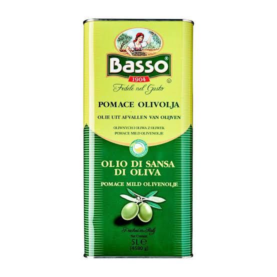 basso olio di sansa di oliva olive pomace oil