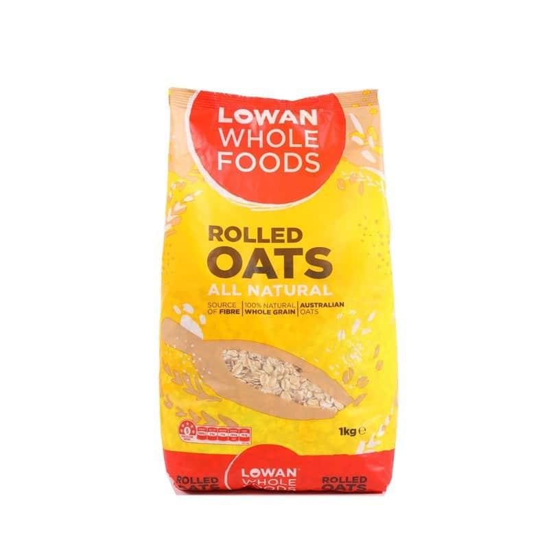 Lowan Whole Foods Rolled oats 1kg