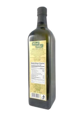Royal Millar Extra Virgin Olive oil 1ltr (Italy)