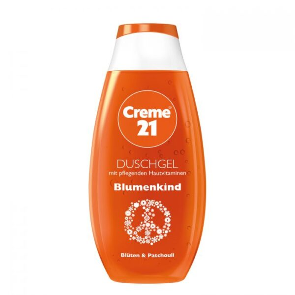 Creme 21 Blumen Kind Shower Dusch Gel 250 ml