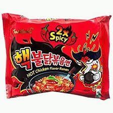 Samyang Ramen 2x spicy noodles