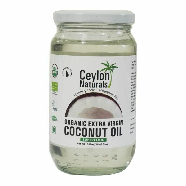 Ceylon Organic Extra Virgin Coconut oil 310ml