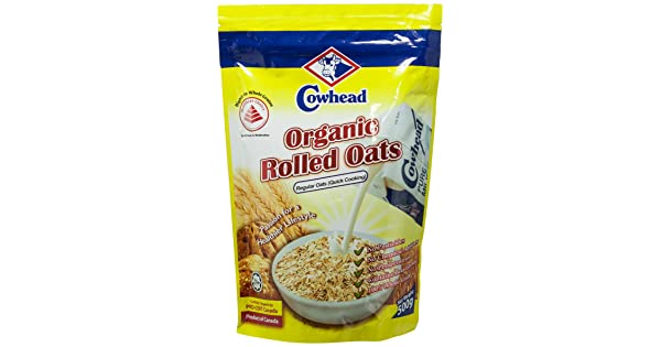 Cowhead Organic Rolled oats Regular oats