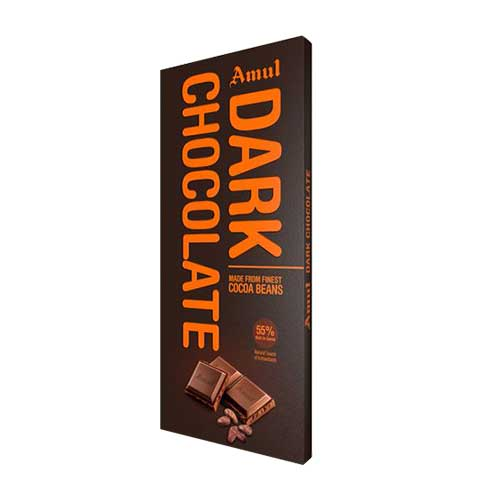 Amul Dark chocolate 55% 150gm