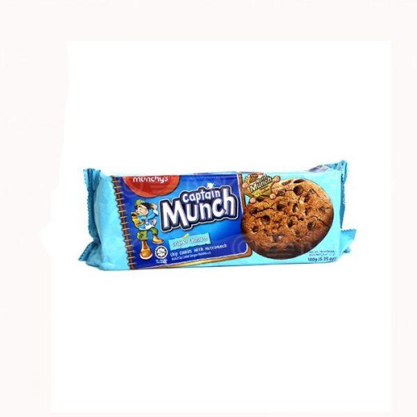 Captain Original Munch Choco Chips Biscuits