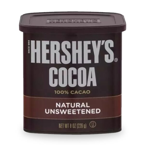 Hershey's Cocoa powder jar