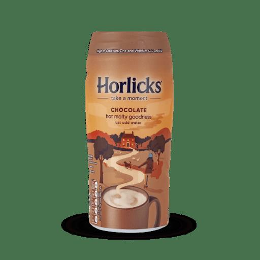 Horlicks Chocolate Hot Malty goodness jar