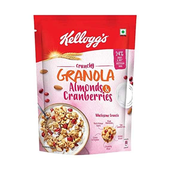 Kellogg's Crunchy Granola Almonds Cranberries