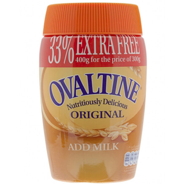 Ovaltine Original Add Milk 300gm
