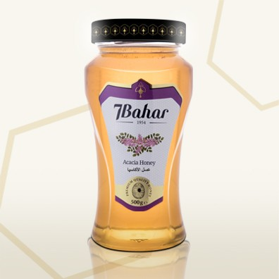 7Bahar Acacia Honey 500gm