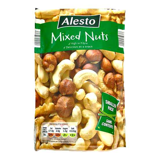 Alesto Mixed Nuts 100gm