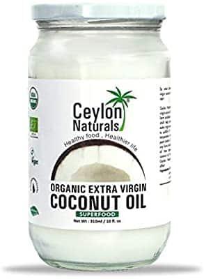 Ceylon Organic Extra Virgin Coconut oil 1000ml.