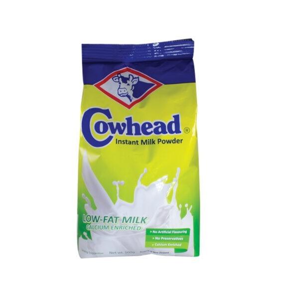 cowhead low fat instant milk powder pack 500g