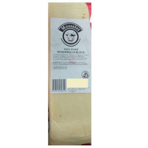 Mozzarella Block Cheese 2kg (UK).