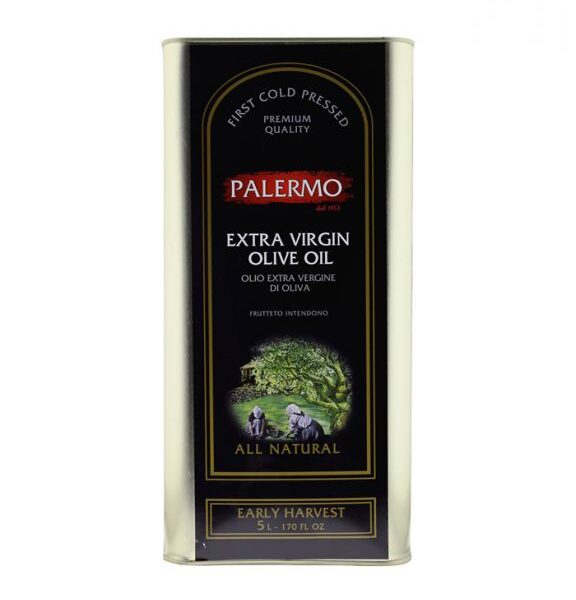 Palermo Organic Extra Virgin Olive Oil 5 ltr