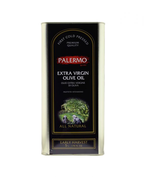 Palermo Organic Extra Virgin Olive Oil 5 ltr