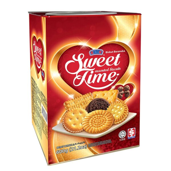 Sweet assorted Biscuits Time 600gm