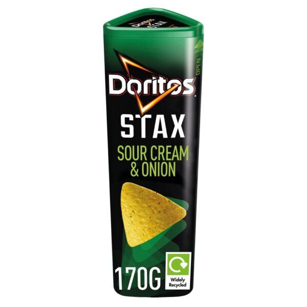 Doritos Stax Sour Cream & Onion chips 170g