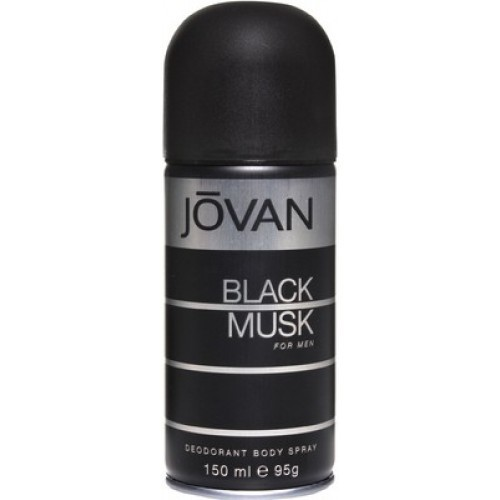 Jovan Black Musk Body Spray