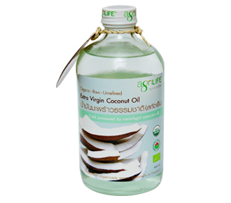 Agrilife Organic Extra Virgin Coconut Oil 450ml
