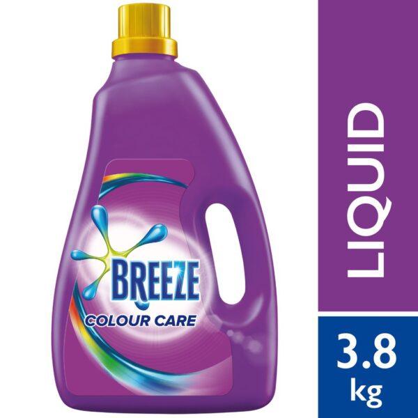 Breeze Detergent Liquid colour care 3.8Ltr (Thailand)