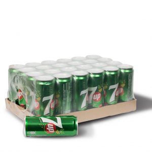 7 Up Can Soft drinks 320ml