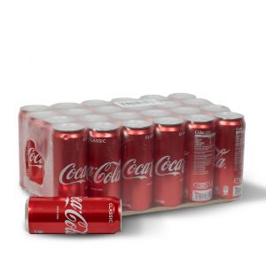 Cocacola Coke Can Soft drinks 320 ml (24 pieces/Full Case)