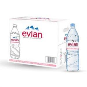 Evian Water Original 1.5 Liter (8 Pieces Pack)
